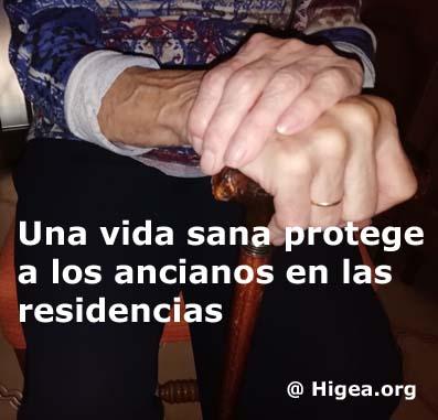 COVID-19: La vida sana es la verdadera inmunidad para los ancianos en las residencias